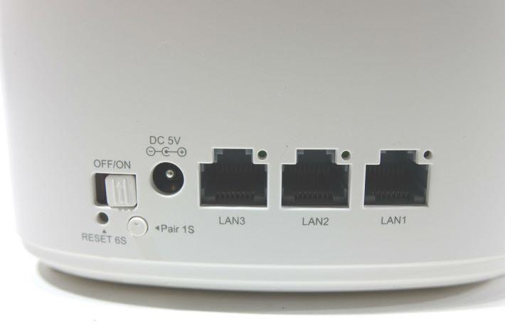 分機具備 3 LAN。