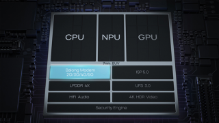 整合 5G Modem 在內,令整個 SoC 面積更細、功耗更低。