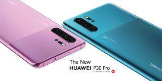 HUAWEI 於 IFA 發表了 P30 Pro 兩種新色:嫣紫色及墨玉藍。