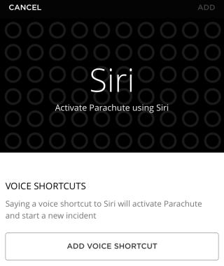 按「 Add Voice Shortcut 」