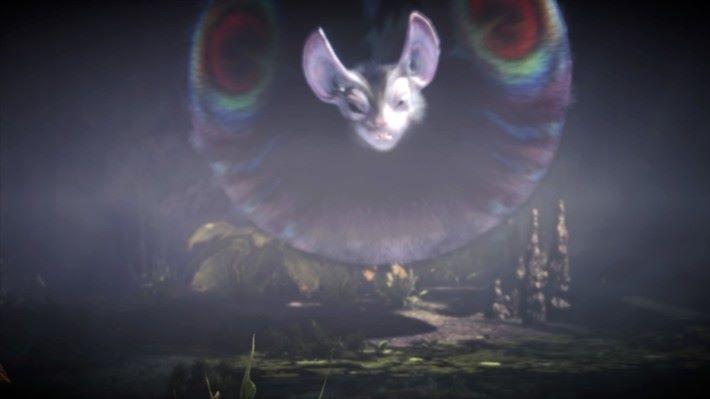 過場動畫就已被它催眠,所以不是筆者故意拿一張模糊的圖片出來。