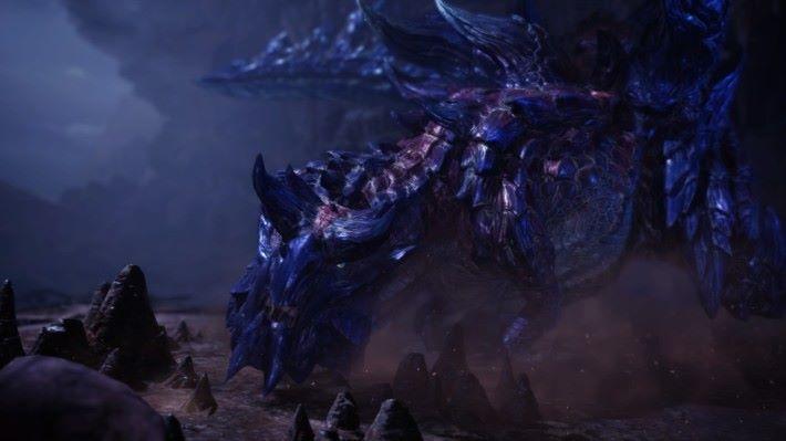 黑暗環境走出一條全黑色的龍,到底官方你想不想玩家見到它.....