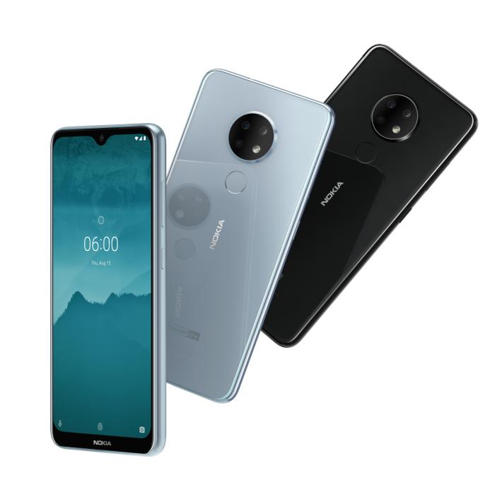 Nokia 6.2 具有「OREO」風格的三主鏡頭於玻璃機背。