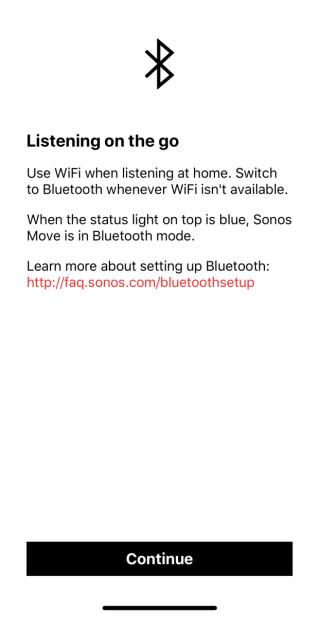 .除在窒內使用 Wi-FI 方式連線外,也可能使用藍牙和手機直接連線,但藍牙方式下 SONOS App 會失去功能。