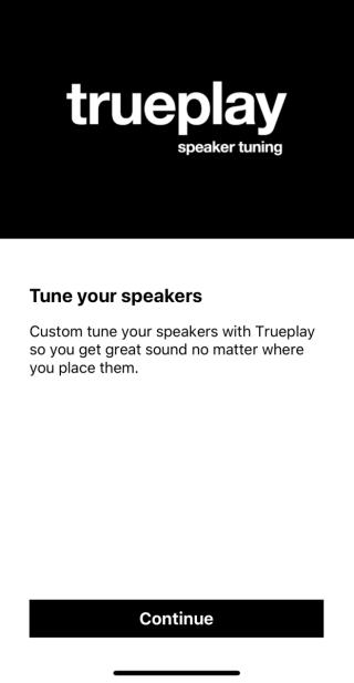 .SONOS App 內一個經典功能,Tuneplay 可以用 iPhone 進行音色調整。