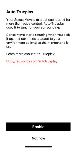 .不過 Move 可以利用內置咪高峰自動定時進行監測與數據調郵,所以不用經過iPhone調音這一步驟,設定省下不少時間,如果其他 SONOS 產品都用等到就好了。