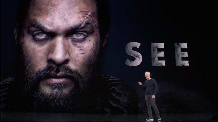 發表會上播放了將會在 11 月 1 日推出的《重見光明 See 》預告片