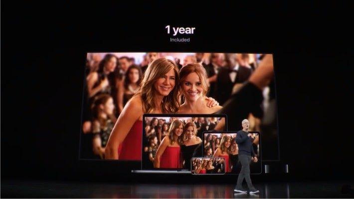 為鼓勵更多人訂閱 Apple TV+ Apple 大方地給購買新 Apple 裝置的用戶送上一年訂閱服務。