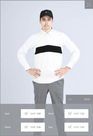 點擊右下角的「詳情」可以選購配搭中的服飾