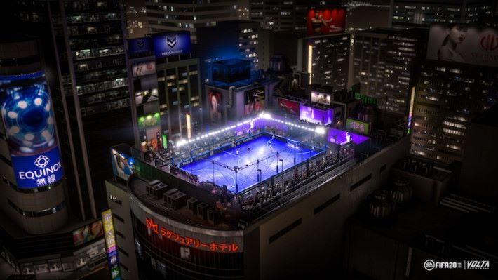 VOLTA 世界賽在各地上演,當然要配合不同地方的「街場」環境。