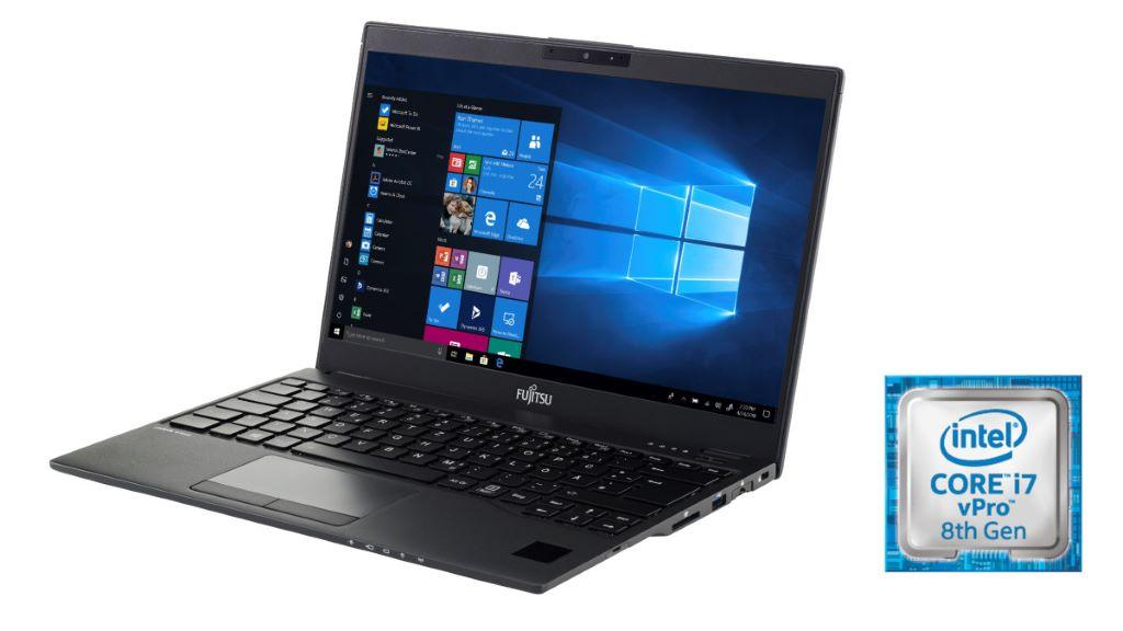Fujitsu LIFEBOOK U939 重量低至 795 克,連接埠齊全,並支援專利掌靜脈安全認證,最高可選配 Intel® 酷睿™ i7 博锐™ 處理器。