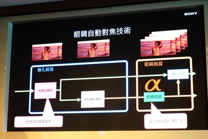 三主鏡頭融合 Sony Alpha 影像技術,在 EyeAF 加持下可作 10fps 的 AF/AE 進行連拍。