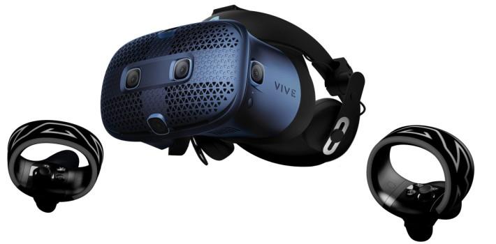 眼罩上的 6 個感測鏡頭用以進行空間感測而不需要安裝外置燈塔。