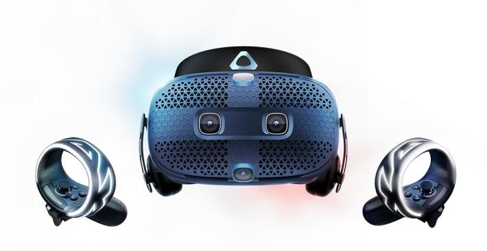 高解像屏幕、 inside-out 追踪和重新設計的控制器是 VIVO Cosmos 的賣點