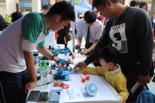 可道中學在區內舉辦多項活動,培養同區學對STEM興趣。