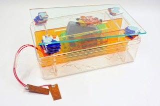 壓力發電板裡的概念並不複雜, 但創作意念有別於傳統。