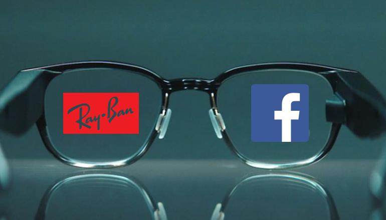 Facebook 也與 Ray-Ban 在研發 AR 智能眼鏡。