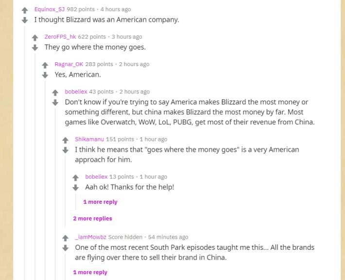美國討論區 Reddit 的玩家反應。