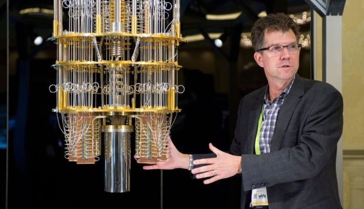 IBM 自家亦有開發量子電腦。