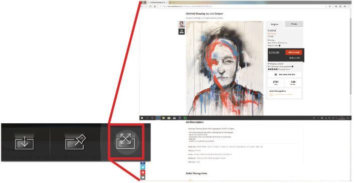 如題所述,當程式啟用畫面延伸功能, 程式將主屏幕跟 ScreenPad 畫面合二為一,組成一個更大的屏幕,用戶可以使用整個上下畫面進行不同類型的瀏覽,又或者作出相應的製作。