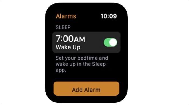 App Store 曾經出現過一張有設定就寢時間提示的截圖