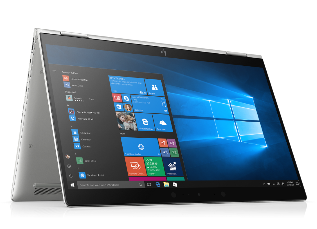 HP EliteBook x360 1030 G3 採用 Intel® 第 8 代 CoreTM i5 處理器,備有 13 吋高清顯示屏及設有四種展示方式,可按展示場地及環境彈性調校,滿足不同展覽的需求。
