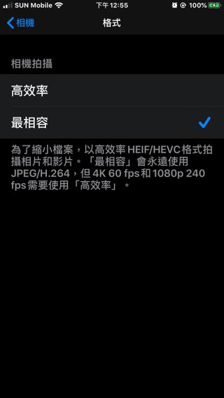 推出 iOS 11 的時候,Apple 為相片及影片加入 HEIF 及 HEVC 格式。