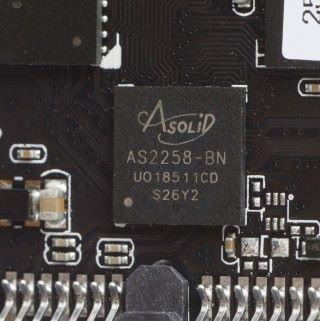 AS2258 SSD 主控晶片