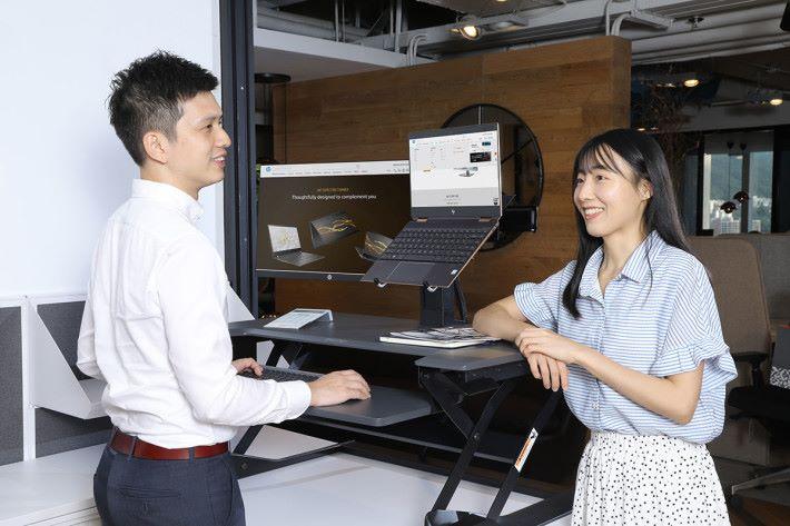 新形辦公室講求開放性,著重透明度,以增加員工溝通的機會,令業務更上一層樓。