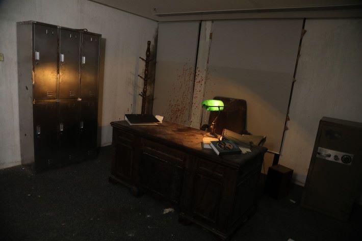 局長的房間