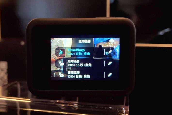 TimeWarp 亦升級至 2.0,只需輕觸一下即可從縮時畫面降至正常錄影速度。