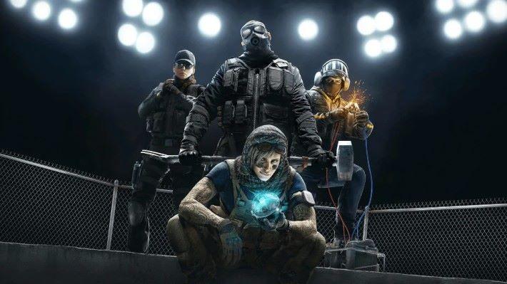 《 Rainbow Six Siege 》是 Ubisoft 旗下 5 對 5 的競技射擊遊戲。