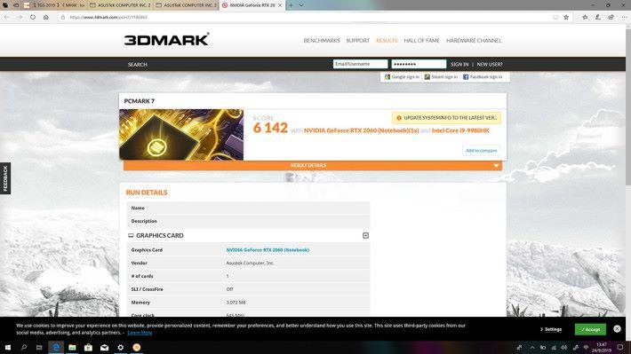 PCMark 的表現其實比 3DMark 更好,可見處理器效能對測試的影響頗大。