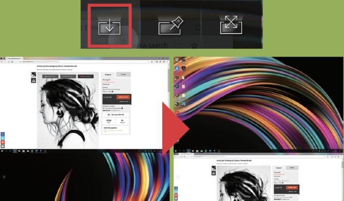 用戶可以在 ZenBook Pro Duo 視窗中,輕易地將所需的畫面,由主屏幕轉移到 ScreenPad Plus,過程只要一下按鍵即可完成,相反亦然,使用相當簡易。