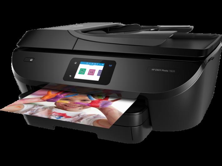 全新 HP ENVY Photo 7820 有齊打印、掃瞄、影印同傳真功能,價錢由 $1,308 減至 $599,學生最適合。