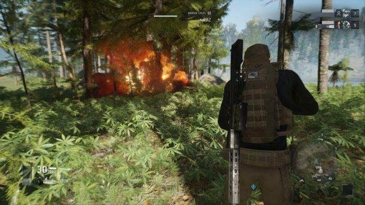 說穿了一個人遊玩的《 Breakpoint 》基本上就迫玩家以潛入方法遊玩。