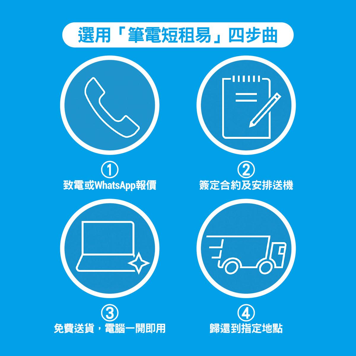 HP DaaS 筆電短租易四步曲