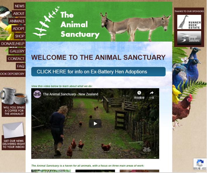 於事件中扮演重要角色的動物保護組織 Animal Sanctuary