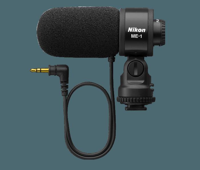 對應配件包括這款可裝在熱靴的立體聲收音咪 ME-1