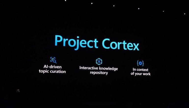 microsoft ignite 2019 project cortex