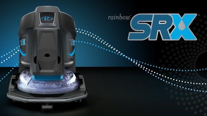 美國 家電品牌 Rainbow,首創以水吸過濾塵埃的技術,配合 HEPA 濾網絡令吸塵的過程都能保持空氣乾淨。