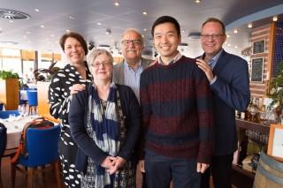 鄭榮之中學教師曾前往芬蘭進行就跨學科學習及開拓與創新教育兩項主題,進行為期五周的教育交流。