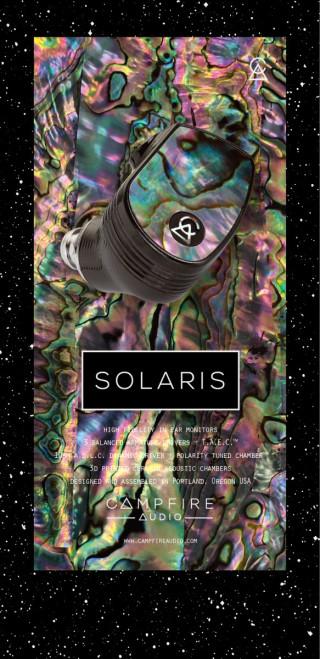 Campfire Audio 的 Solaris 也來個限量特別版,大玩幻彩色調。