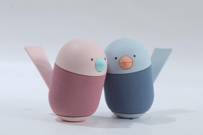 Libratone Bird 藍牙喇叭,玩 cutie 可愛小鳥造型,可磁吸方便擺放不同位置。