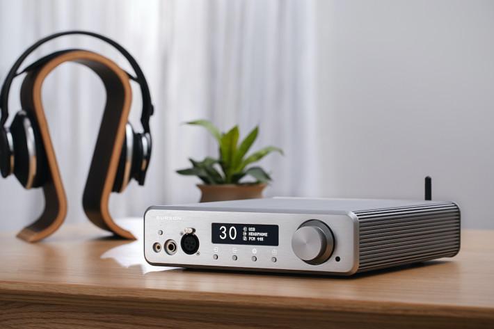 Burson Audio 的 Conductor 3X高清耳擴,備有藍牙接收支援對應耳機。
