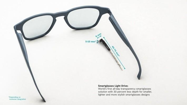 Light Drive 體積小巧,並可以在普通眼鏡上使用。