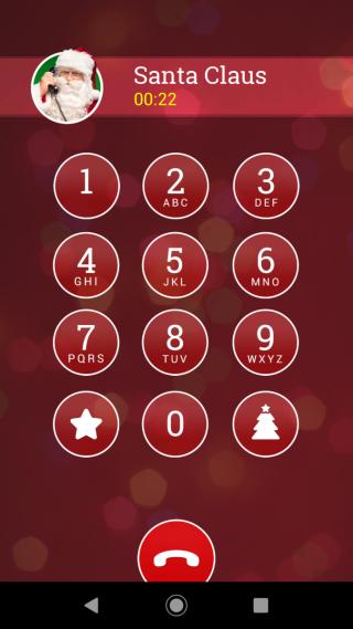 接著場景會轉至聖誕老人,但聖誕前夕,聖誕老人十分忙碌,語音會進入留言信箱,跟隨指示按不同號碼,內有眾多功能,包括錄下聖誕願望、查詢北極天氣等。