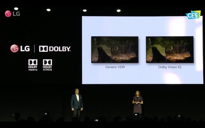 .LG 電視是首批支援最新 Dolby Vision IQ 技術的品牌之一,配合家居環境優化HDR亮度數值。