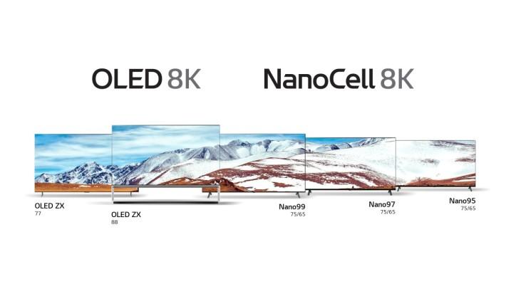.今年LG將 8K 戰線由 OLED 擴展到 NanoCell LED 電視。