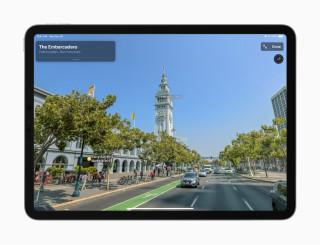 iOS Maps App 環視四周